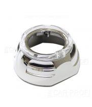 "Маска для би-линзы CarProfi SHATL 3.0"" (Z129) АГ CREE, комплект 2шт"