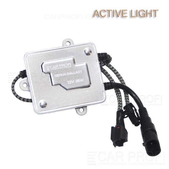 Блок розжига CarProfi Active Light slim +30%, AC, 35W, (9-16V)