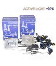 Комплект ксенона CarProfi Active Light Ceramic slim +30%, 5100k, АС, 35W, (9-16V)