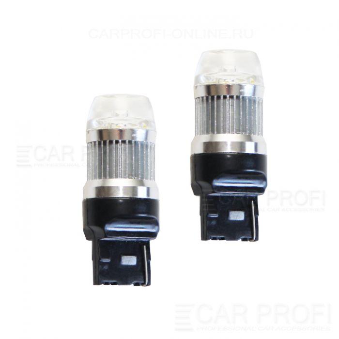 Светодиодная лампа CarProfi CP T20-PRL 30W (W21W) CREE, 7440 - 1 контакт (5100K) 1 шт.