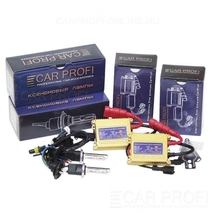 Комплект ксенона CarProfi HID Standart Ceramic slim, АС, 35W, (9-16V)