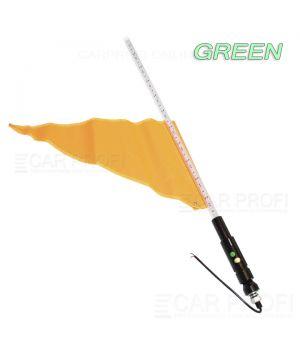 Светодиодный LED ФлагШток 5FT CarProfi CP-LX401 GREEN, 156 LED SMD 5050  (зелёное свечение)