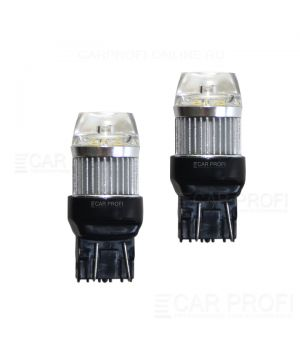 Светодиодная лампа CarProfi CP W21/5W-PRL 30W (T20 / W21W) CREE, 7443 - 2 контактf (5100K) 1 шт.
