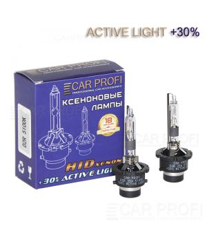 Ксеноновая лампа CarProfi D2R Active Light +30%, 5100k (1 шт.)