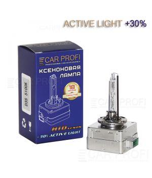 Ксеноновая лампа CarProfi D3S Active Light +30%, 5100k (1 шт.)
