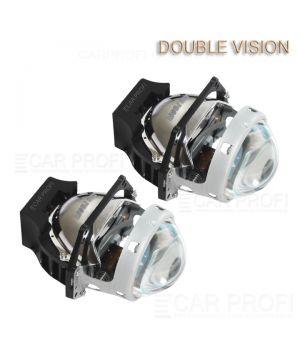 Светодиодные би-линзы CarProfi Bi LED Lens Double Vision 3.0 дюйма, GPI, 5100k (к-т 2 шт.)