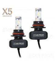 Светодиодные лампы CarProfi CP-X5 HB5 (9007) Hi/Low CSP new 6000Lm (комплект, 2шт)