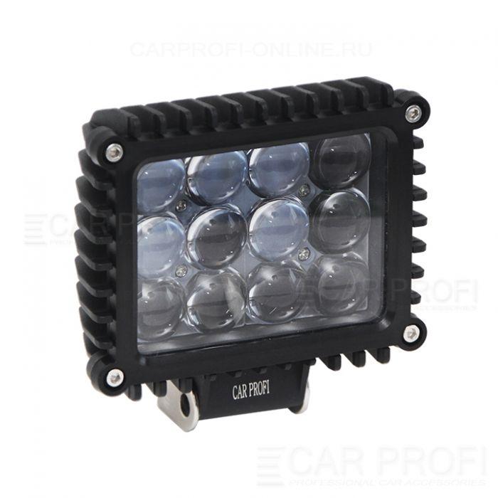Светодиодная фара CarProfi CP-60 Spot, 60W CREE, линзы дальний свет