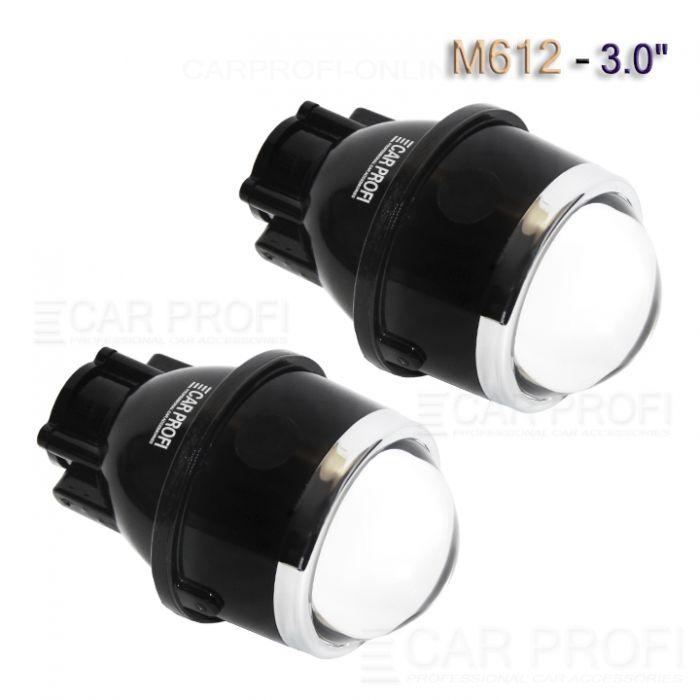 Би-линзы для ПТФ CarProfi M612 Waterproof, H11, 3.0 дюйма (к-т 2 шт.)