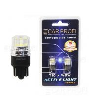 Светодиодная лампа CarProfi T10 2W EPISTAR CHIP Active Light series, 32lm (блистер 2 шт.)