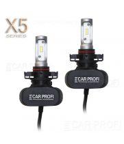 Светодиодные лампы CarProfi CP-X5 PSX24 CSP new 6000Lm (комплект, 2шт)
