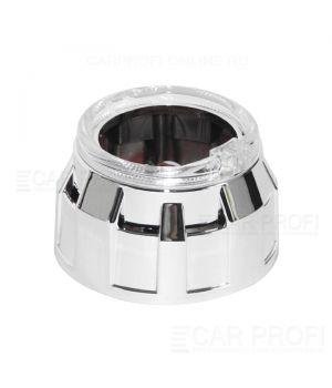 """Маска для би-линзы CarProfi CLASSIC 2.5"""" (GD260) АГ CREE, комплект 2шт"""