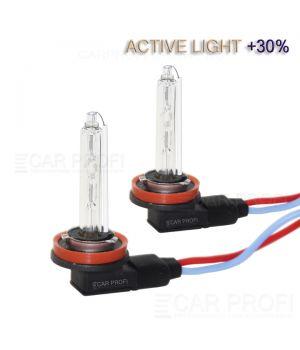Ксеноновая лампа CarProfi H11 BENT Active Light +30%, 5100k, AC (Г-образная) 1 шт.