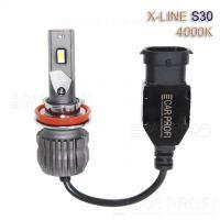 Светодиодные лампы CarProfi S30 H11 4000K X-line series, 30W, 4000Lm (к-т, 2 шт)