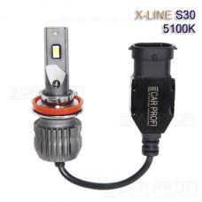 Светодиодные лампы CarProfi S30 H11 5100K X-line series, 30W, 4000Lm (к-т, 2 шт)