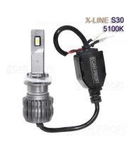 Светодиодные лампы CarProfi S30 H27 5100K X-line series, 30W, 4000Lm (к-т, 2 шт)
