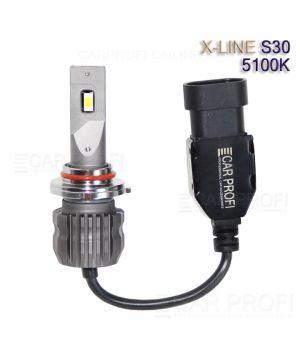 Светодиодные лампы CarProfi S30 HB3 5100K X-line series, 30W, 4000Lm (к-т, 2 шт)
