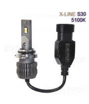 Светодиодные лампы CarProfi S30 HB4 5100K X-line series, 30W, 4000Lm (к-т, 2 шт)