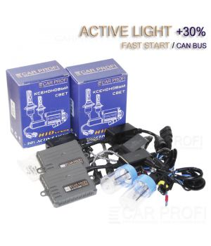 Комплект ксенона CarProfi Fast Start / Can Bus, Active Light series, Ceramic slim +30%, 5100k, АС, 45W (быстрый старт)