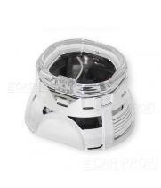 "Маска для би-линзы CarProfi SQUARE 2.5"" (G261S) АГ CREE, комплект 2шт"