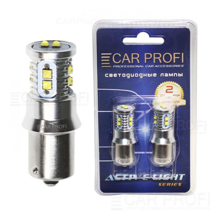 Светодиодная лампа CarProfi S25 (1156) 50W CREE XBD Active Light series, 12V, 800lm (блистер 2 шт.)