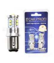 Светодиодная лампа CarProfi S25 (1157) 50W CREE XBD Active Light series, 12V, 800lm (блистер 2 шт.)