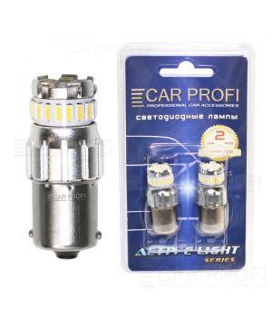 Светодиодная лампа CarProfi S25 (1156) 9W SMD Active Light series, 12V, 585lm (блистер 2 шт.)