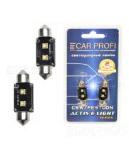 Светодиодная лампа CarProfi FT 6W OSRAM SUPER CAN BUS, 36mm, Active Light series, цоколь C5W, 12V, 75lm (блистер 2 шт.)
