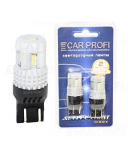 Светодиодная лампа CarProfi T20 (7443) 12W 12LED 3020SMD Active Light series, 12V, 550lm (блистер 2 шт.)
