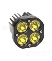 Светодиодная фара CarProfi CP-GDN-40EB Spot, 40W, CREE, желтое свечение