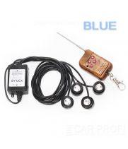 Дневные ходовые огни стробоскопы CarProfi CP-4HP Blue (пульт д/у в комплекте)