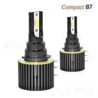Светодиодные лампы CarProfi CP-B7 H15 Compact Series 5100K CSP, 36W/6W DRL, CanBus, 6000Lm (к-т, 2 шт)
