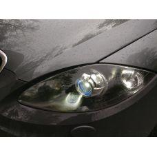 Установка светодиодных би-линз CarProfi Bi LED Lens I2 3.0 дюйма на SEAT Altea Freetrack