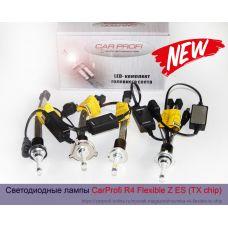 Новинка автосвета, светодиодные лампы CarProfi R4 Flexible Z ES (TX chip), black premium series