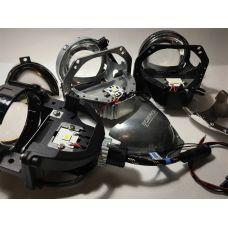 Технический обзор светодиодных модулей CarProfi Bi LED Lens X-line S2, S2 и PS Active light