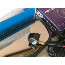 Пример установки камера заднего вида CarProfi HX-901 в паре с  зеркалом HX-501